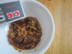 Elk and Alcohol Chili