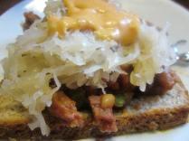 Chili Rueben Sandwich