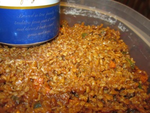Vulgar Bulgur and Anchovy Chili Stuffing
